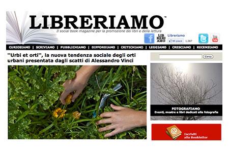 Rassegna stampa urbi et orti alessandro vinci fotografie for Riviste feltrinelli