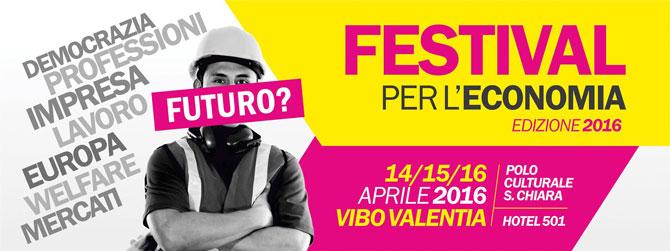 Festival per l'Economia 2016
